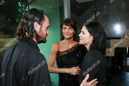 Stock Photo of Rogan Gregory, Helena Christensen and Ali Hewson