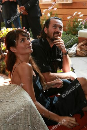 Helena Christensen and Designer Rogan Gregory