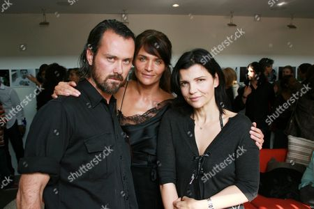 Rogan Gregory, Helena Christensen and Ali Hewson