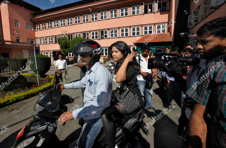 Nihita Biswas Nepalese Nihita Biswas, reportedly married to 65-year-old convict French serial killer Charles Sobhraj, leaves the Supreme Court in Katmandu, Nepal, . Nepal's Supreme Court postponed to July 30 the appeal verdict of Sobhraj who was convicted by a Katmandu district court in 2004 of killing a western backpacker in 1975