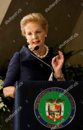 Carolina Herrera Venezuela's fashion designer Carolina Herrera speaks during a ceremony to support the social programs of Panama's First Lady Marta Linares de Martinelli at the oncology hospital in Panama City, . Herrera is in Panama to present next Wednesday, part of her Spring 2010 collection