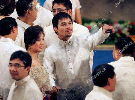 Editorial image of Philippines Aquino, Manila, Philippines