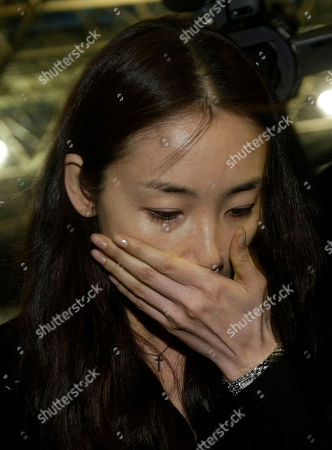 Stock Picture of Choi Ji-woo South Korea actress Choi Ji-woo leaves after attending a memorial service for deceased South Korean actor and singer Park Yong-ha at a hospital in Seoul, South Korea, . Park was found dead Wednesday in an apparent suicide, police and a news report said. Park, 33, apparently hanged himself in his home in Seoul, Yonhap news agency reported, citing police
