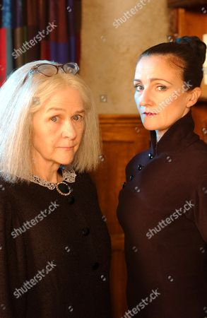 Stock Photo of 'The New Worst Witch' - Clare Coulter and Caroline O'Neill