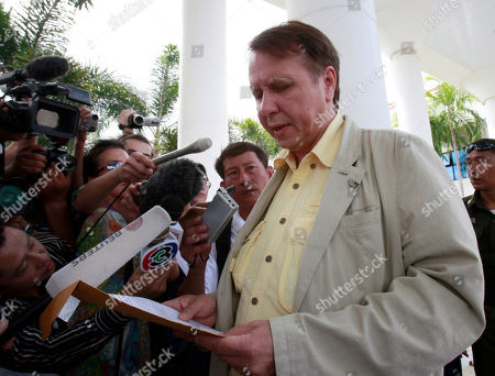 Mikhail Pletnev Russian pianist and conductor Mikhail Pletnev reads his statement to reporters upon his arrival at Pattaya provincial court in the southeastern resort town of Pattaya, Thailand . Pletnev was at the court to fight charges that he sexually assaulted a teenage boy. He was arrested and freed on bail then allowed to leave the country for a concert appearance in Europe before returning to Thailand again last week