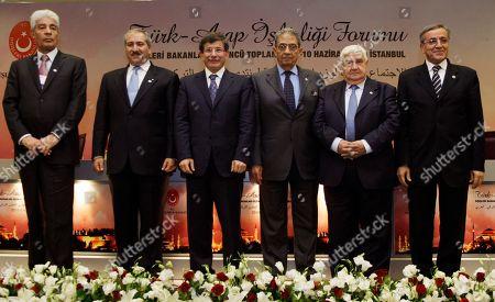 Editorial photo of Turkey Arab Meeting, Istanbul, Turkey
