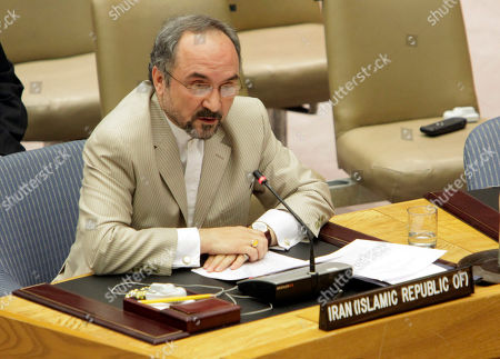 Mohammad Khazaee Iran's Ambassador Mohammad Khazaee speaks after a vote sanctioning his country during a session of the United Nations Security Council