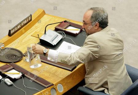 Editorial image of UN Iran Nuclear, Xun