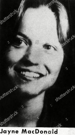Jayne MacDonald One 13 women killed over Editorial Stock Photo ...