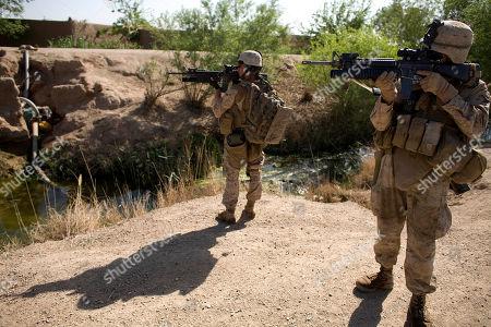 Editorial picture of Afghanistan Bullet Wars, Marjah, Afghanistan