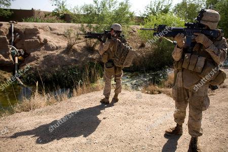 Editorial photo of Afghanistan Waffentechnik, Marjah, Afghanistan