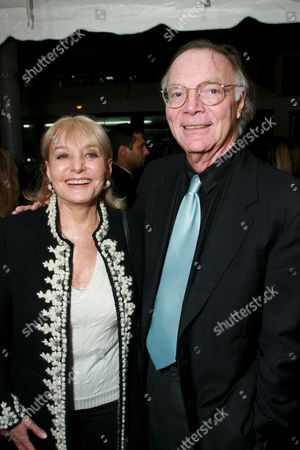 Barbara Walters and Nick Pileggi