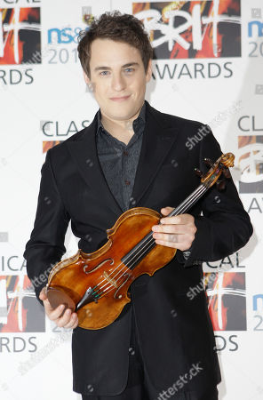 Jack Liebeck British Violinist Jack Liebeck arrives for the 2010 Classical Brit Awards nomination launch held at a central London hotel