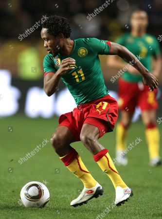 Jean II Makoun Cameroon's Jean II Makoun is seen during the friendly soccer match against Italy, in Monaco stadium. Italy and Cameroon teams are qualified for the World Cup 2010 in South Africa