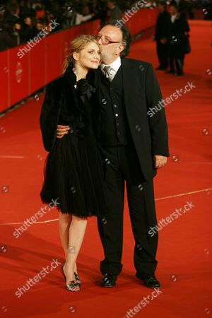 Melanie Laurent and director Alessandro Capone