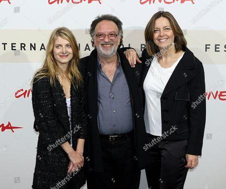 Melanie Laurent, Alessandro Capone and Greta Scacchi