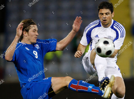 Editorial image of CYPRUS ICELAND SOCCER, LARNACA, Cyprus