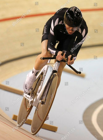 Alison Shanks Alison Shanks of New Zealand in action during her heat of the Women's Individual Pursuit at the World Track Cycling Championships in the Ballerup Arena, Copenhagen, Denmark, Wednesday, March, 24, 2010