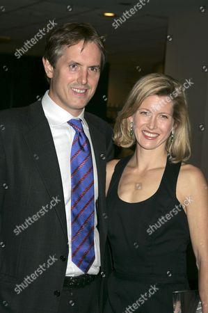 Stock Photo of Andrew Schiff and wife Karenna Gore Schiff
