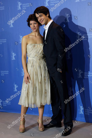 Ada Condeescu, George Pi?tereanu Romanian actors Ada Condeescu and George Pistereanu pose at the photo call for the film 'If I Want To Whistle, I Whistle' at the International Film Festival Berlinale in Berlin, Germany, . The 60th International Film Festival, Berlinale, takes place from Feb. 11 to Feb. 21, 2010