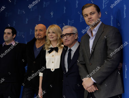 Bradley J. Fischer,Sir Ben Kinsley, Michelle Williams, Martin Scorsese, Leonardo DiCaprio U.S. producer Bradley J. Fischer, British actor Sir Ben Kinsley, U.S. actress Michelle Williams, U.S. director Martin Scorsese and U.S. actor Leonardo DiCaprio pose at the photo call for the film 'Shutter Island' at the International Film Festival Berlinale in Berlin, Germany