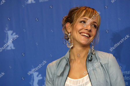 Stock Image of Jannike Kruse Jatog Norwegian actress Jannike Kruse Jatog poses at the photo call of the film 'A Somewhat Gentle Man' at the International Film Festival Berlinale in Berlin, Germany