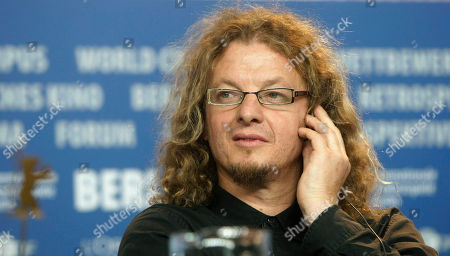 Rodrigo Pla Rodrigo Pla one of the directors of the film 'Revolucion' attends a news conference at the International Film Festival Berlinale inBerlin, Germany