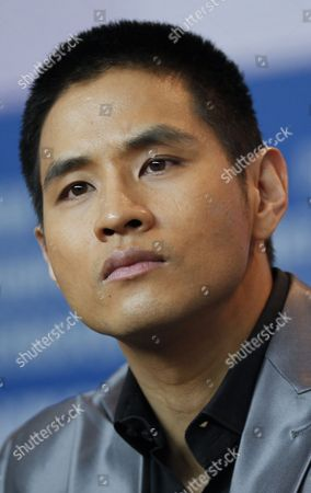 Steve Yoo Actor Steve Yoo at the press conference for the film 'Little Big Soldier' during the International Film Festival Berlinale in Berlin, Germany