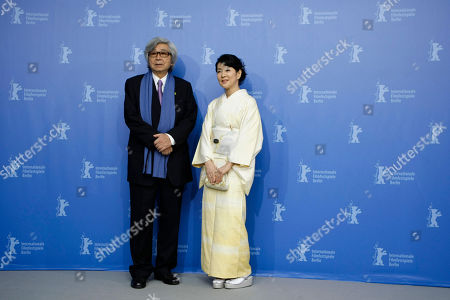 Yoji Yamada, Sayuri Yoshinaga Japanese director Yoji Yamada, left, and actress Sayuri Yoshinaga pose at a photo-call for the movie 'About Her Brother' at the International Film Festival Berlinale in Berlin, Germany