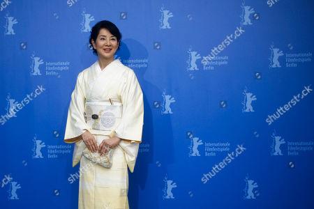 Sayuri Yoshinaga Japanese actress Sayuri Yoshinaga poses at a photo-call for the movie 'About Her Brother' at the International Film Festival Berlinale in Berlin, Germany