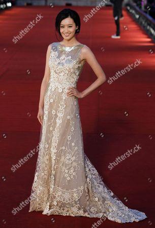 Fala Chen Hong Kong's actress Fala Chen poses on the red carpet of the Hong Kong Film Awards in Hong Kong