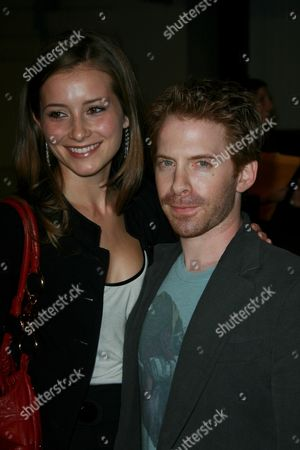 Candace Bailey and Seth Green