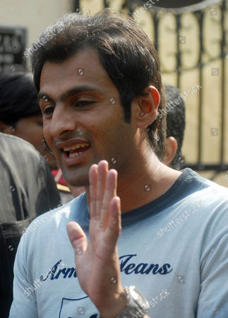 Shoaib Malik Pakistani cricketer Shoaib Malik addresses the media outside Indian tennis player Sania Mirza's house in Hyderabad, India, . According to news reports, Malik's alleged first wife Ayesha Siddiqui will file a case against the cricketer who has been accused of marrying and dumping her without a divorce. Malik is set to marry Mirza, a union of two of South Asia's most well known sports personalities