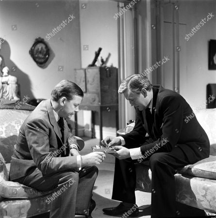 Peter Barkworth (left) and Jack Watling in 'The Power Game'