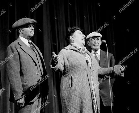 Arthur Haynes (left) with Rita Webb in 'The Palladium Show'