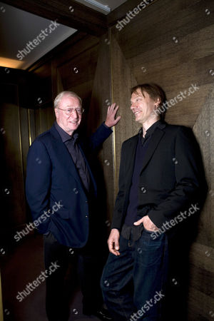 Michael Caine with William Orbit at Scott's in Mayfair.