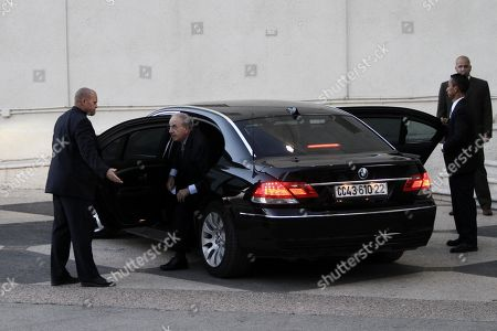George Mitchell U.S. Mideast envoy George Mitchell, center, emerges from a car before his meeting with Palestinian President Mahmoud Abbas, not pictured, in the West Bank city of Ramallah, . The White House envoy tried Friday to get Israelis and Palestinians talking again after more than a year of deadlock, while confronting a second challenge navigating the rocky relations between Israel and the U.S
