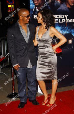 Marques Houston and Jennifer Freeman