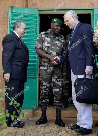 Salou Djibo, Ramtane Lamamra, Said Djinnit Salou Djibo, center, leader of the military junta which overthrew Niger's strongman president days earlier, shakes hands with the U.N's Said Djinnit as Ramtane Lamamra of the African Union looks, following talks between the junta and international envoys at an army base in Niamey, Niger