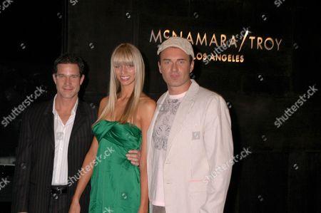 Dylan Walsh, Taylor Erickson and Julian McMahon