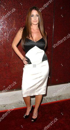 Stock Picture of Nicole Travolta, niece of John Travolta