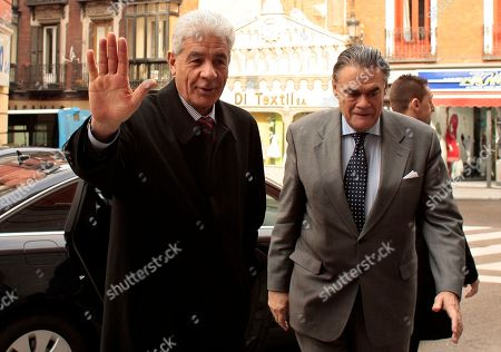 Mousa Kousa Foreign Minister of Libya Mousa Kousa arrives at the Viana Palace in Madrid for a meeting with Spanish Foreign Minister Miguel Angel Moratinos