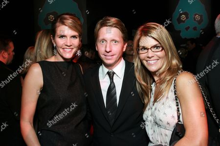 Colleen and Brad Bell with Lori Loughlin