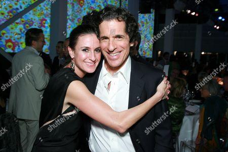 Peter Morton and daughter