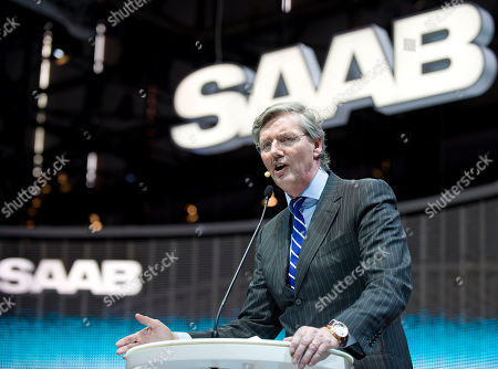 Victor Muller Saab investor Spyker CEO Victor Muller talks about the future of rescued Swedish carmaker Saab at the Geneva Motor Show in Geneva, Switzerland, . About 250 exhibitors from 30 countries, showing 100 car premieres at the Auto Show until March 14