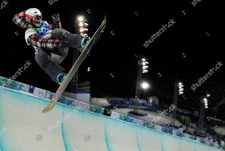 Gretchen Bleiler Gretchen Bleiler of the USA competes in the women's snowboard halfpipe at the Vancouver 2010 Olympics in Vancouver, British Columbia
