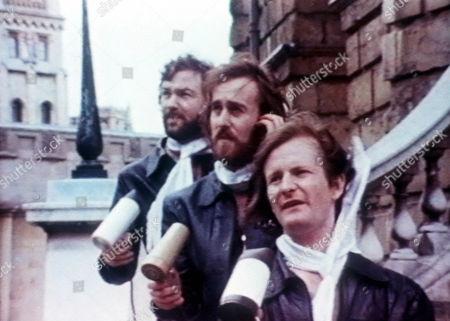 'The Hee Bee Gee Bees'  - 1980 - Michael Fenton Stevens, Angus Deayton, Philip Pope.
