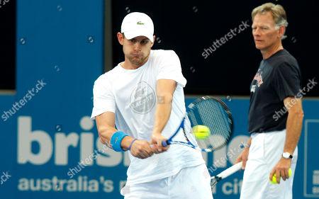 Editorial picture of Australia Brisbane International Tennis, Brisbane, Australia