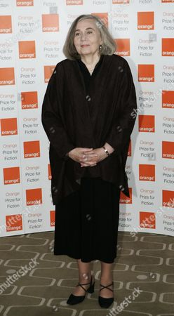 Marilynne Robinson Author Marilynne Robinson poses for the photographers prior to the ceremony for the 2009 Orange Book prize for fiction in London's Royal Festival Hall, . Robinson won the prestigious book award with her book 'Home