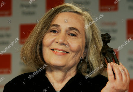 Marilynne Robinson Author Marilynne Robinson holds her 2009 Orange Book prize for fiction during a ceremony in London's Royal Festival Hall, . Robinson won the prestigious book award with her book 'Home